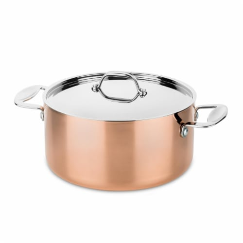 Mepra 30122120C 20 cm Toscana Casserole with Lid Perspective: front
