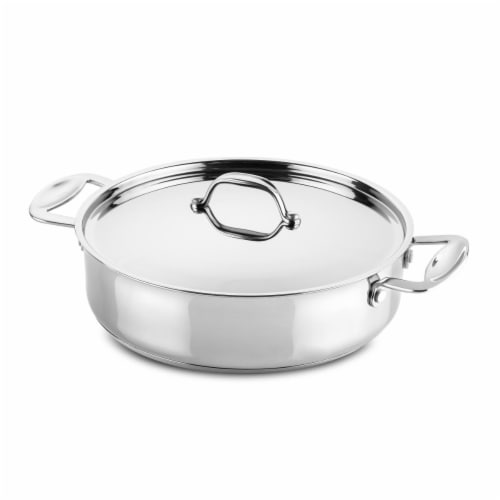 Mepra 30213126 26 cm Non Stick Saute Pan 2 Handles Glamour Stone Perspective: front