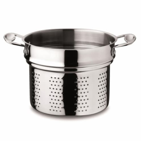 Mepra 30217222 18-10 Stainless Steel Glamour Stone Stock Pot Perspective: front