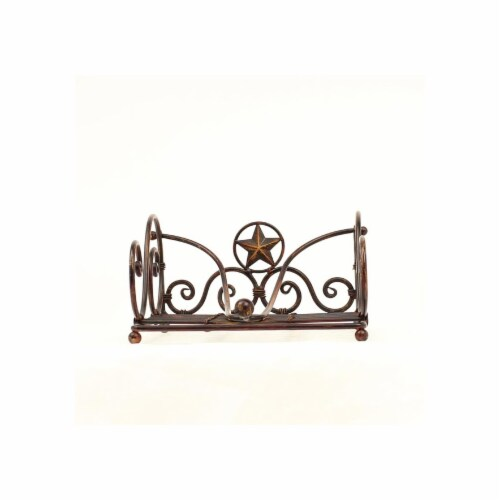 Western Moments 94137 Silverado Napkin Holder Set Perspective: front