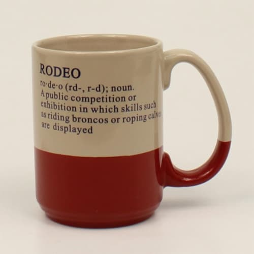 M&F Western 94973 Rodeo Definition Mug Perspective: front