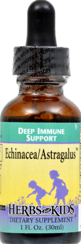 Herbs For Kids Echinacea Astragalus Deep Immune Support Perspective: front