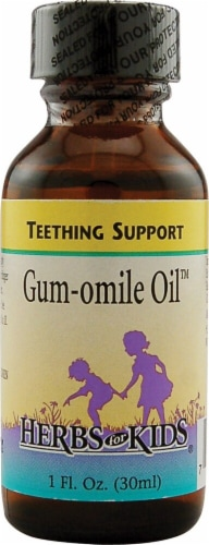 Herbs For Kids  Gum-omile Oil™ Perspective: front