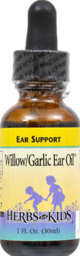 Herbs For Kids Willow Garlic Ear Oil Liquid Perspective: front
