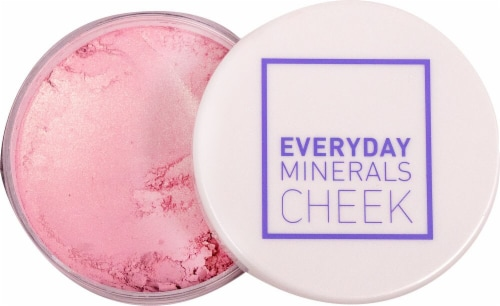 Everyday Minerals  CHEEK Blush Let's Pink About This Perspective: front