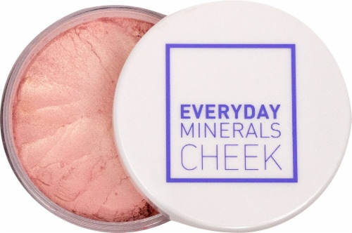Everyday Minerals Luminous Major Pink Blush Perspective: front