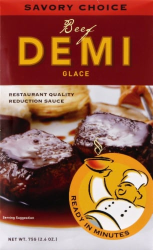 Savory Choice Beef Demi Glace Perspective: front