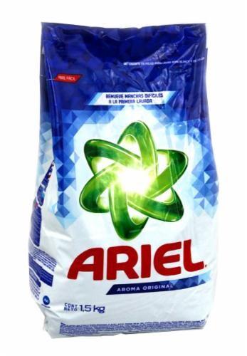 Ariel Powder Laundry Detergent Perspective: front