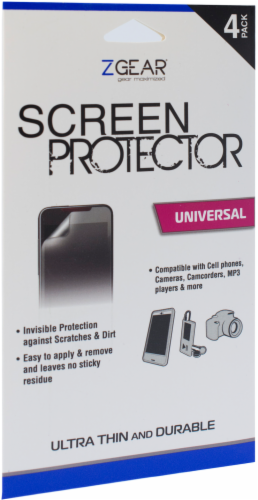 ZGear Universal Screen Protector Perspective: front