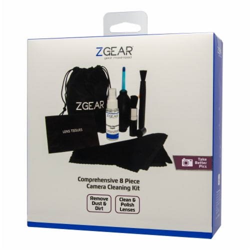ZGear Comprehensive Camera Cleaning Kit - Black Perspective: front