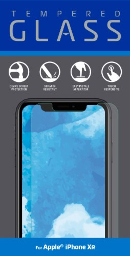 ZGear iPhone Xr Tempered Glass Screen Protector - Clear Perspective: front