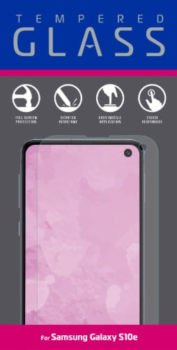 ZGear Tempered Glass for Samsung Galaxy S10e - Clear Perspective: front