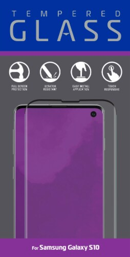 ZGear Tempered Glass for Samsung Galaxy S10 - Clear Perspective: front