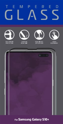 ZGear Tempered Glass for Samsung Galaxy S10+ - Clear Perspective: front