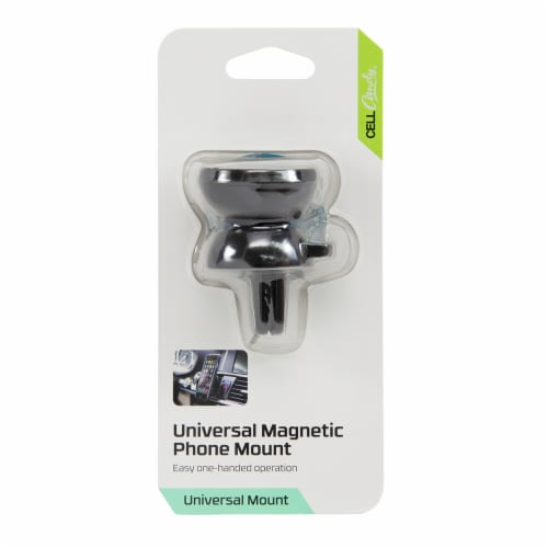 CELLCandy Magnetic Phone Vent Mount - Black Perspective: front