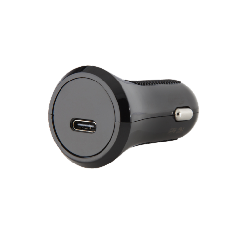 CELLCandy 15W USB C Car Charger - Black Perspective: front