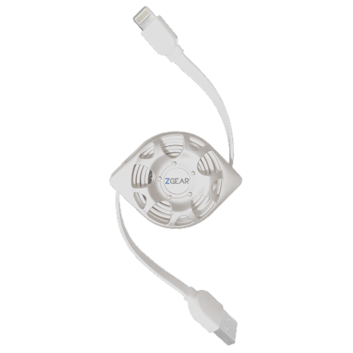 ZGear Retractable Lightening Cable Perspective: front
