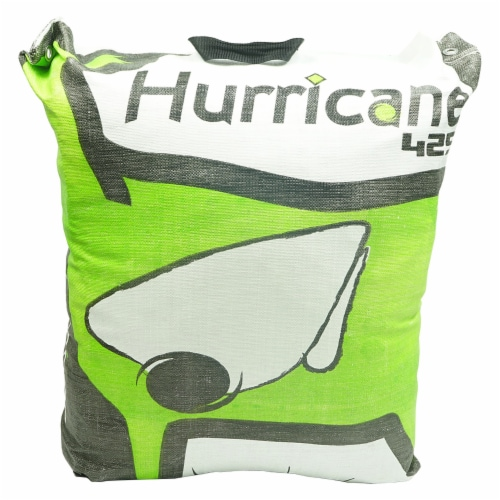 Hurricane H-28 Tri-Core Technology 9 Target Deer Vitals Archery Target, Yellow Perspective: front