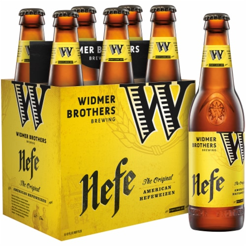 Widmer Brothers The Original American Hefeweizen Perspective: front
