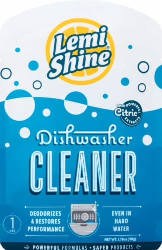 Lemi Shine Dishwasher Cleaner Perspective: front