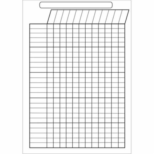 Big Magnetic Incentive Chart, 12  x 15 Perspective: front