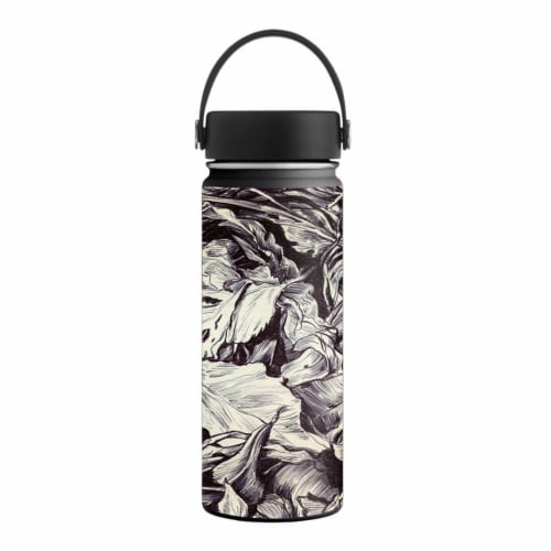 MightySkins HFWI18-Nest Sketch Skin for Hydro Flask 18 oz Wide Mouth - Nest Sketch Perspective: front