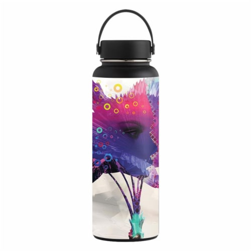 MightySkins HFWI40-Mini Palm Skin for Hydro Flask 40 oz Wide Mouth - Mini Palm Perspective: front