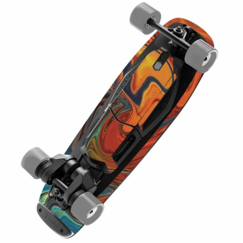 MightySkins BOOMIX-Lava Water Skin for Boosted Board Mini X, Lava Water Perspective: front