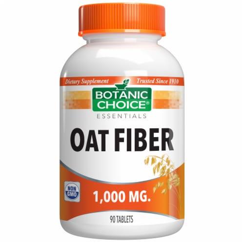 Botanic Choice  Oat Bran 1000 mg. Fiber Dietary Supplement Perspective: front
