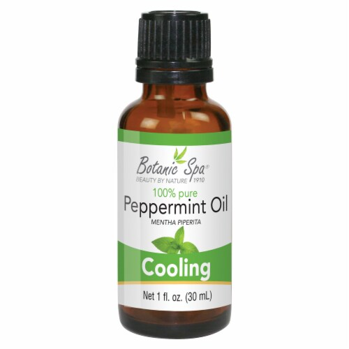 Botanic Spa  Peppermint Essential Oil Perspective: front