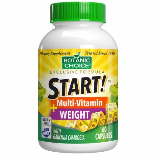 Botanic Choice  START! Multi-Vitamin + Weight Dietary Supplement Perspective: front