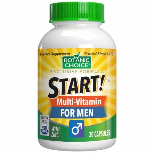 Botanic Choice  START! Multi-Vitamin for Men Dietary Supplement Perspective: front
