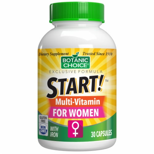 Botanic Choice  START! Multi-Vitamin for Women Dietary Supplement Perspective: front