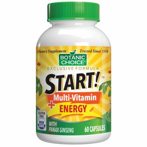 Botanic Choice  START! Multi-Vitamin + Energy Dietary Supplement Perspective: front