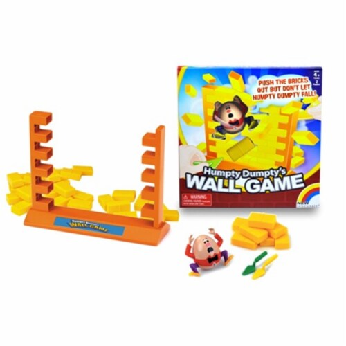Humpty Dumptys Wall Game | For 2 Players Ages 4 and Up Perspective: front