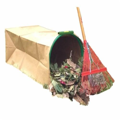 Leaf Gulp II  Leaf Bag Holder for Paper Bags Perspective: front