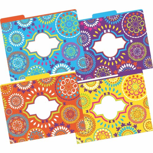 File Folders, Letter-Size, Moroccan, Pack of 12 Perspective: front