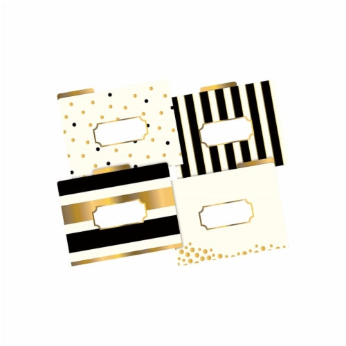File Folders, Letter-Size, Gold, Pack of 12 Perspective: front