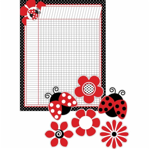 Barker Creek 1593745 Just Dotty Incentive Chart & Accent Set, Set of 37 Perspective: front