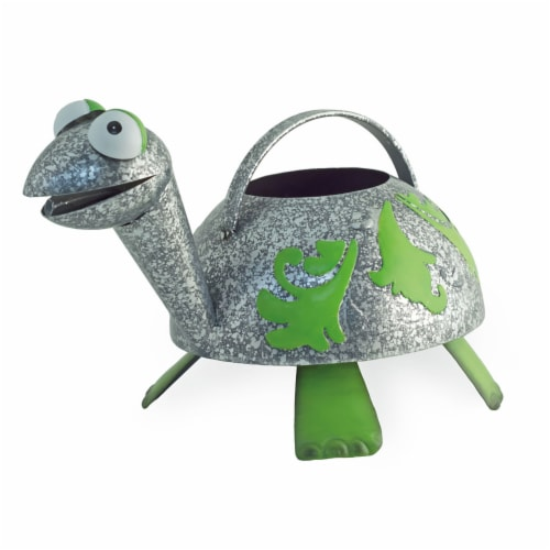 Boston International SIN18220 Donny Turtle Watering Can Perspective: front