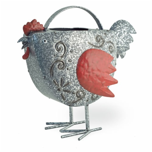 Boston International Berty Red Hen Watering Can - Assorted Perspective: front