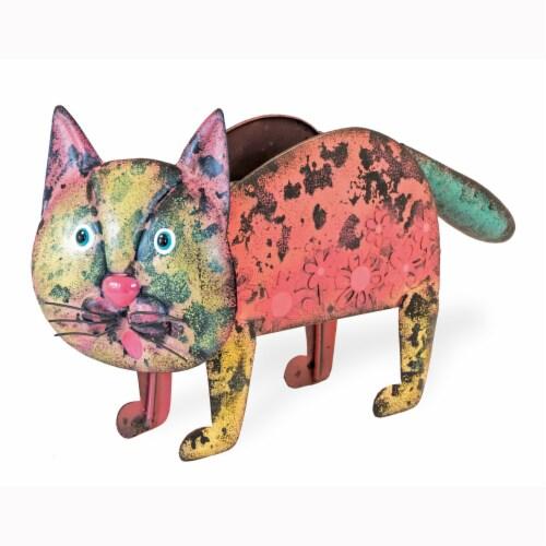 Boston International Chloe Cat Planter Perspective: front