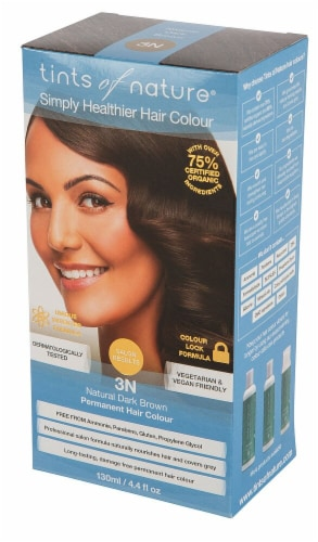 Tints of Nature  Permanent Hair Colour 3N Natural Dark Brown Perspective: front