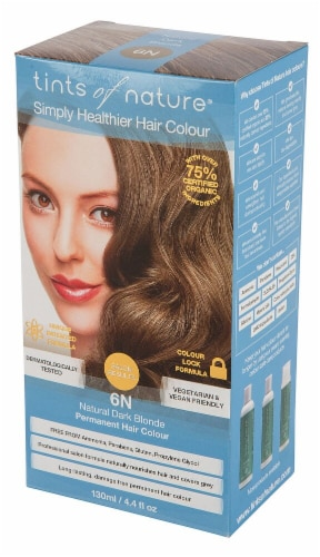 Tints of Nature  Permanent Hair Colour 6N Natural Dark Blonde Perspective: front