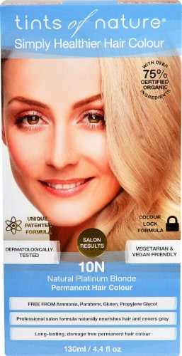 Tints of Nature Permanent Hair Colour - 10N Natural Platinum Blonde Perspective: front