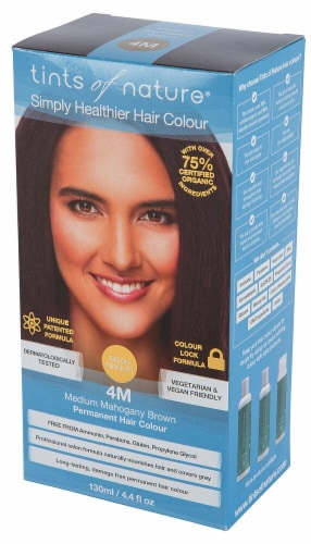 Tints of Nature Permanent Hair Colour - 4M Medium Mahogany Brown Perspective: front