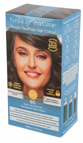 Tints of Nature  Permanent Hair Colour 6C Dark Ash Blonde Perspective: front
