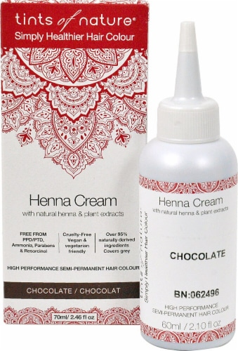 Tints of Nature  Henna Cream Hair Color Chocolate Perspective: front