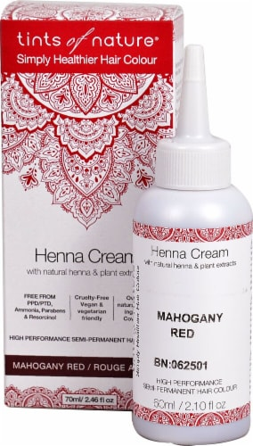 Tints of Nature  Henna Cream Hair Color Mahogany Red Perspective: front
