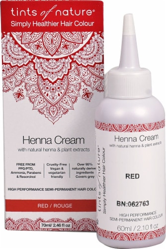 Tints of Nature  Henna Cream Hair Color Red Perspective: front